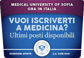 Medical University of Sofia ora in Italia